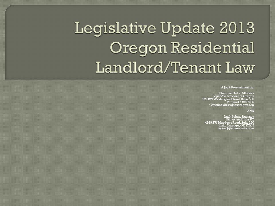 Renters Insurance Screening Fees Foreclosure Technical Corrections Section 8 Vouchers as Protected Class Contractors License Towing Bedbugs