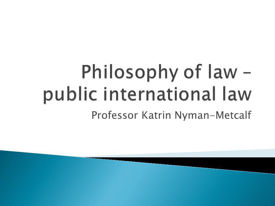 Professor Katrin Nyman-Metcalf