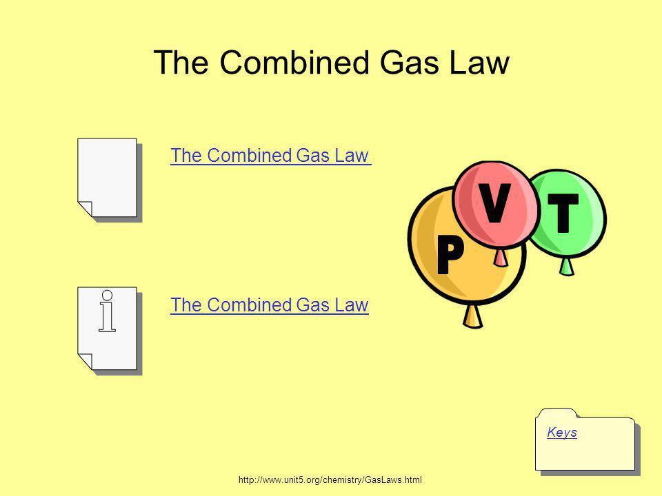 = kPV PTPT VTVT T Combined Gas Law P1V1T1P1V1T1 = P2V2T2P2V2T2 P 1 V 1 T 2 = P 2 V 2 T 1 Courtesy Christy Johannesson www.nisd.net/communicationsarts/