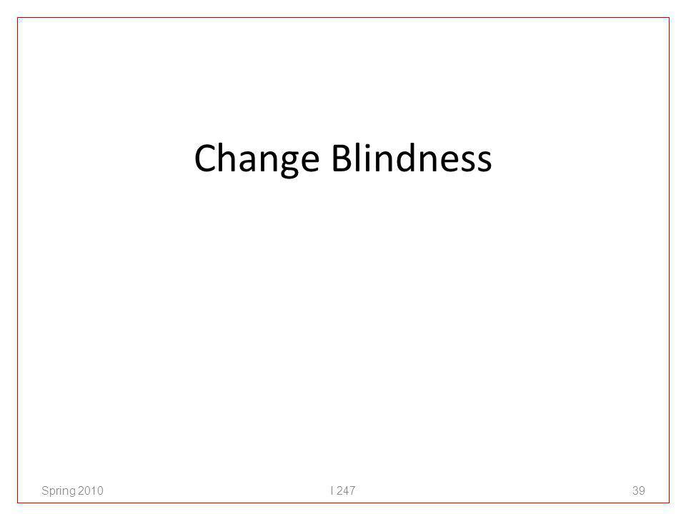 Change Blindness Spring 2010I 24739