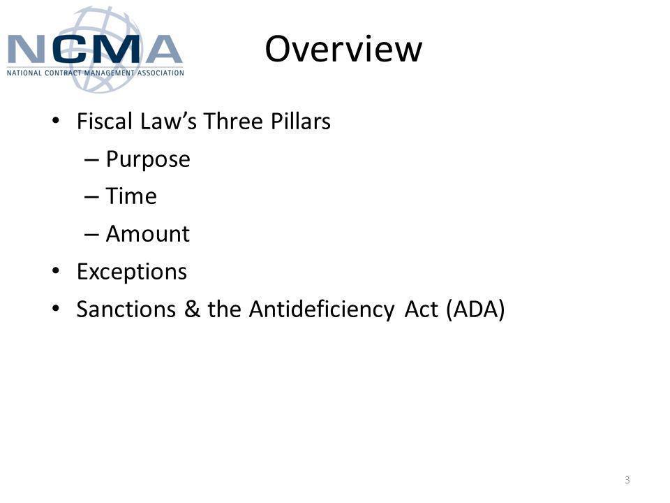 Purpose Major Appropriations – Personnel – pay and allowances, PCS, etc.