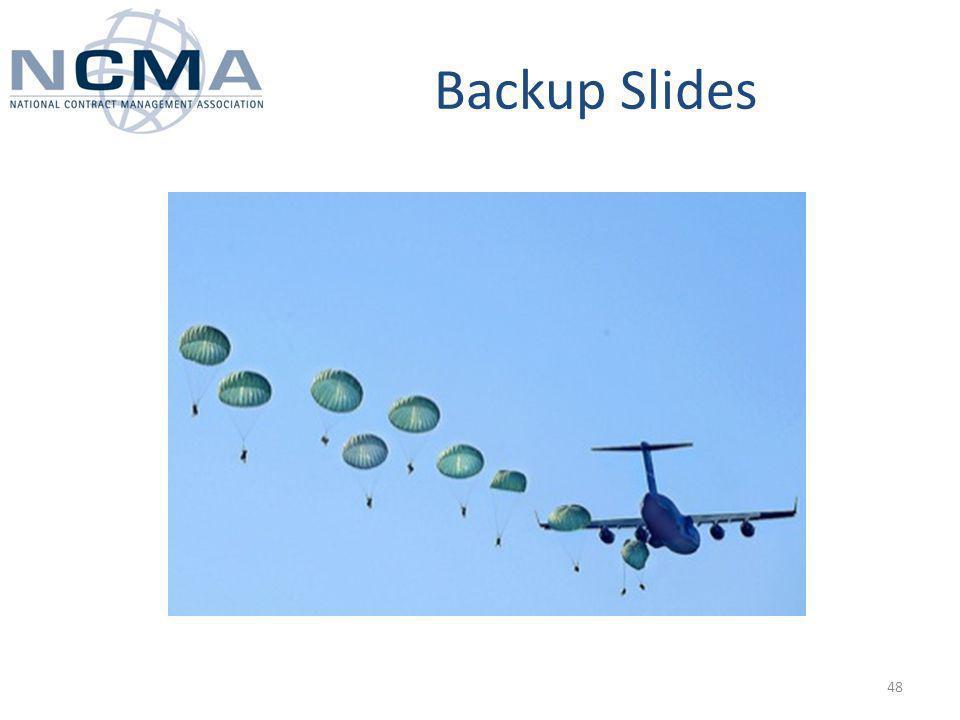 Backup Slides 48