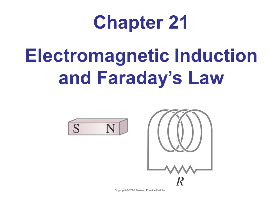 Chapter 21 Electromagnetic Induction and Faradays Law