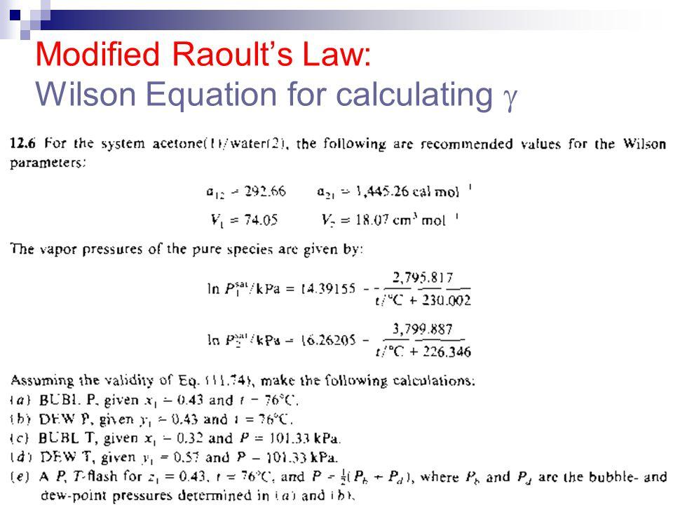 Estimating Azeotrophic Condition, Use No Diagram