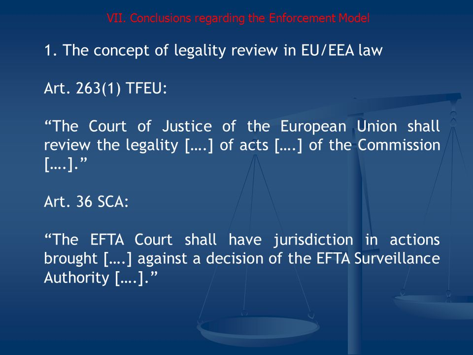 1.The concept of legality review in EU/EEA law Art.