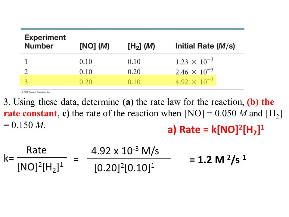 Chemical Kinetics 14.3- The Change of Concentration with Time Describe a second-order reaction.