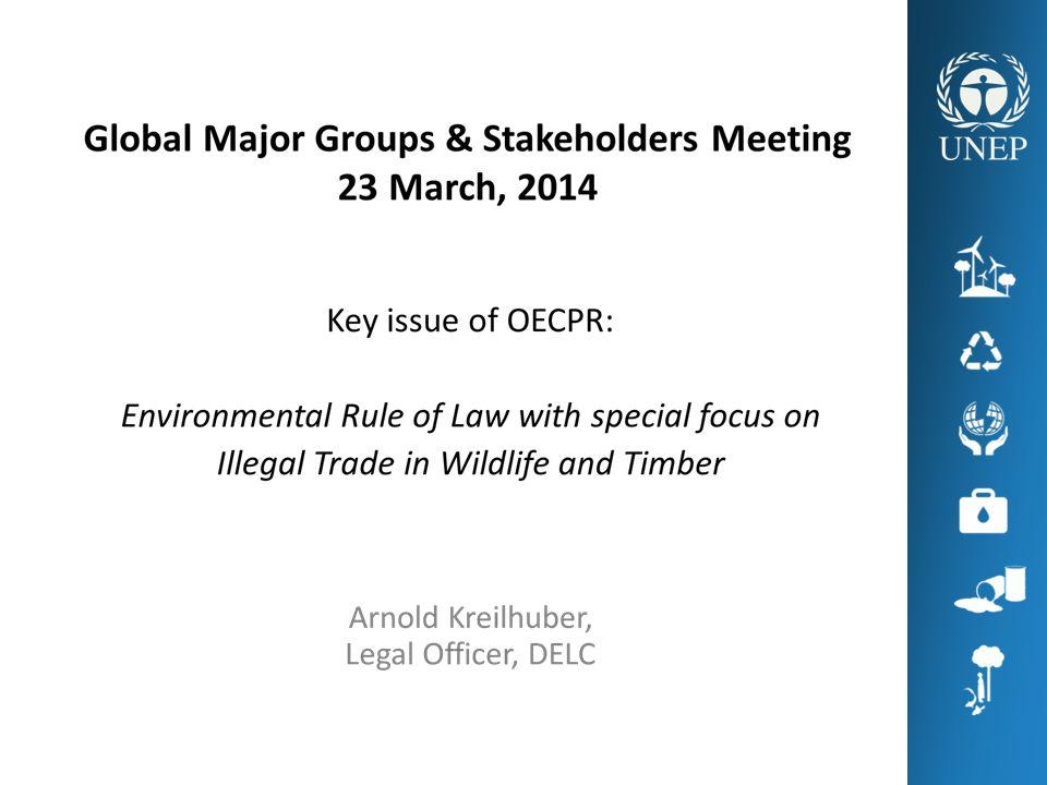 ILLEGAL WILDLIFE TRADE Global illegal wildlife trade (excl.
