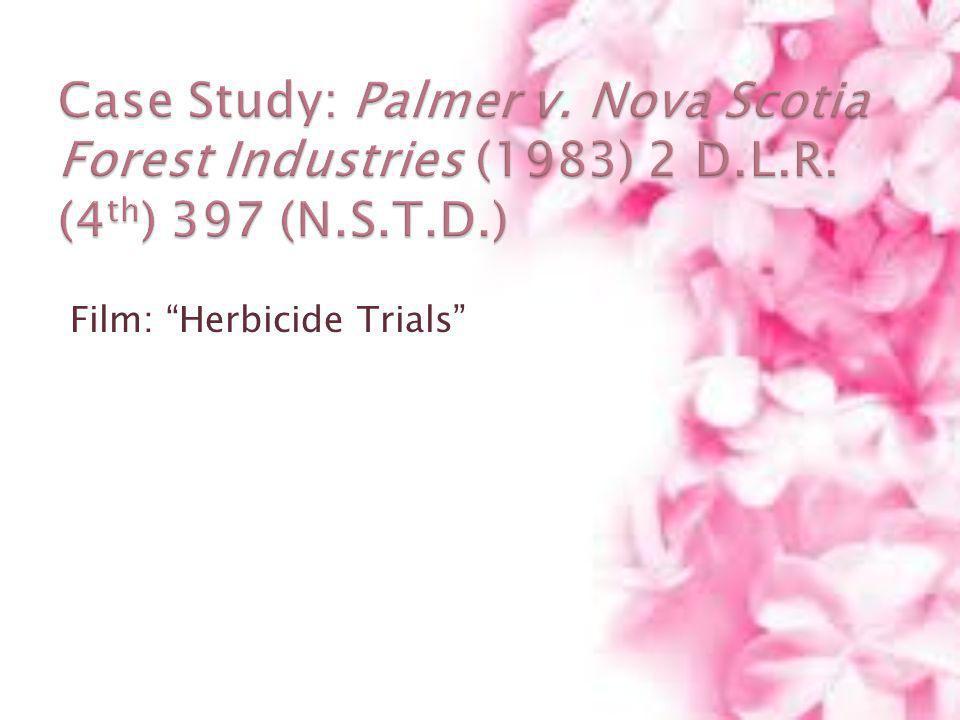Film: Herbicide Trials