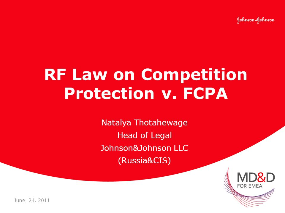 RF Law on Competition Protection v.