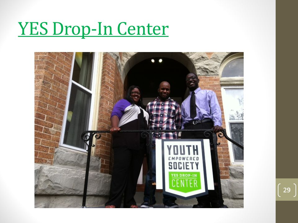 YES Drop-In Center 29