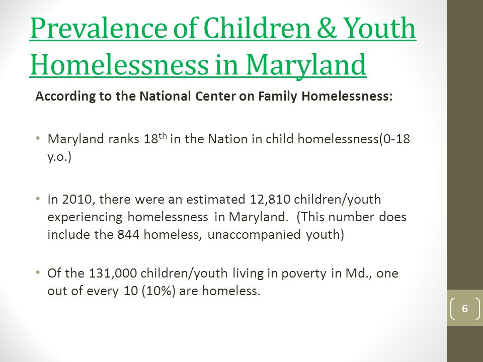 The Solution(s) Create a Health Center that addresses the unique needs of homeless children/youth CHANGE THE LAW 17