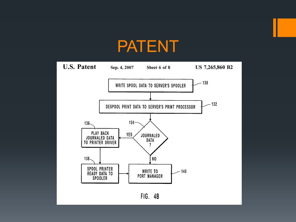 Search – USPTO databases Provisional Patent Application – good for ONE year Non-Provisional Patent Application – long examination process USPTO Rejections-Prosecution Issuance