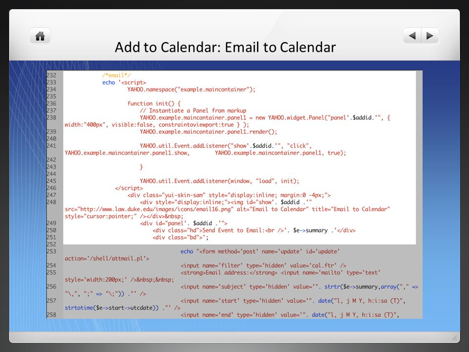 Add to Calendar: Email to Calendar