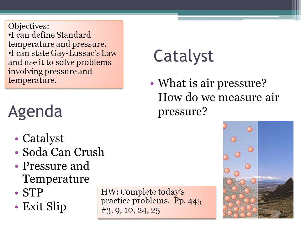 Example 2: At 273K, the pressure of a sample of nitrogen is 1000 atm.