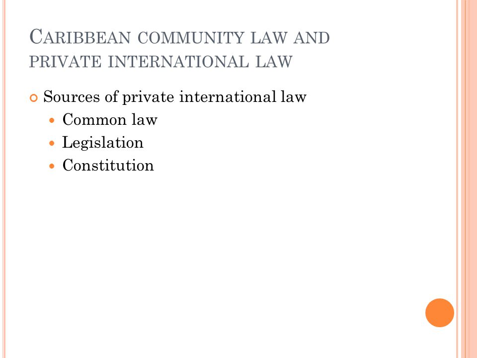 B ILATERAL FREE TRADE AGREEMENTS Specialized legal rules/self-contained CARICOM is contracting party Consistency with CARICOM Principles Less Develope
