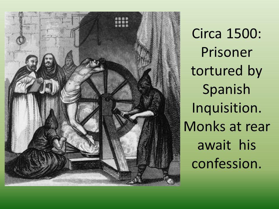 Torture Theological reasons Secular reasons