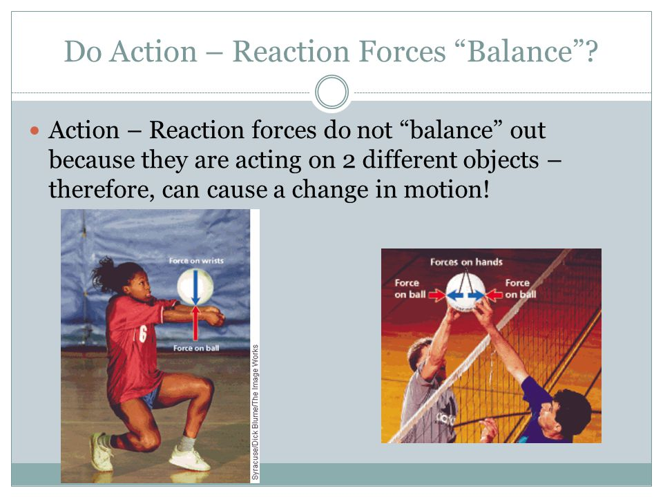 Detecting Motion You cant always detect motion when paired forces are in action.