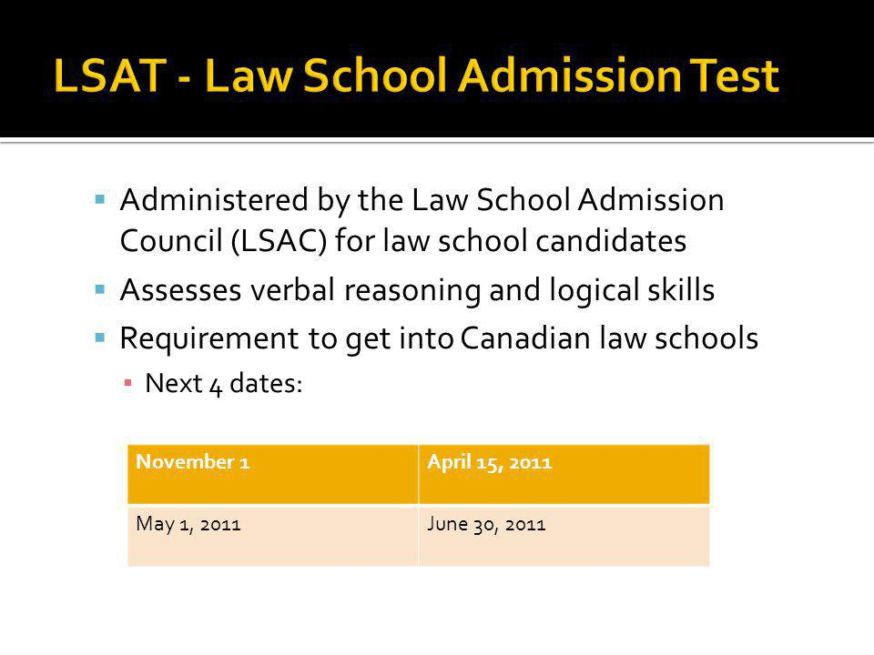Plan to study four to six hours per week for a (minimum) four to six week period before the exam Preparation times will vary LSAT scores range from 120 to 180, with a median score of 150.