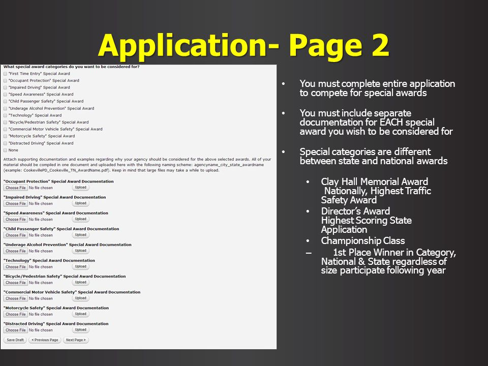 Application- Page 8