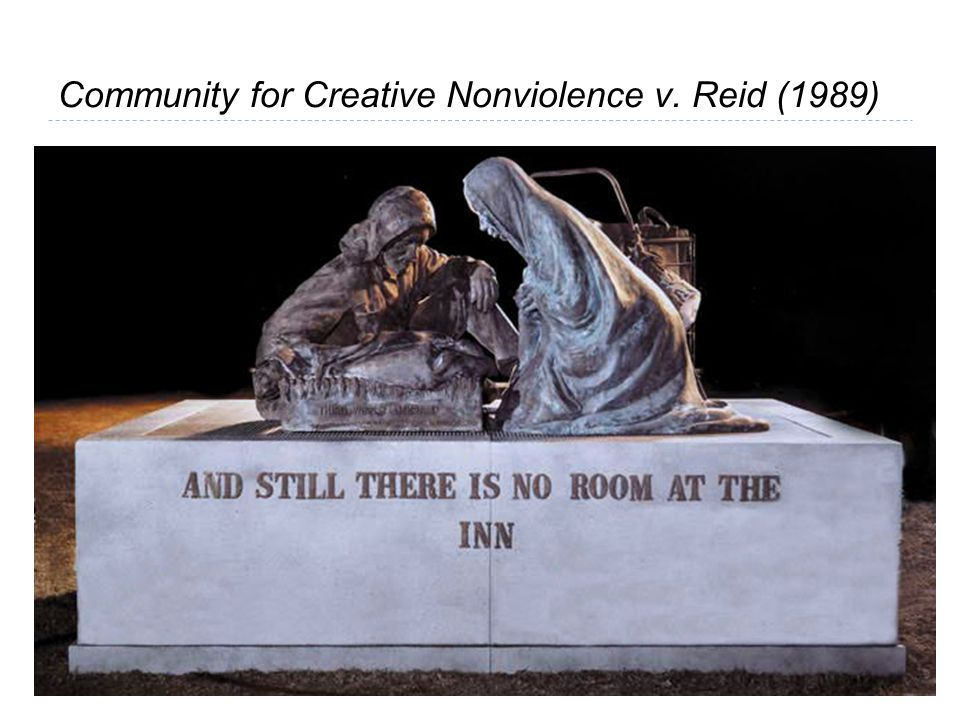 Community for Creative Nonviolence v. Reid (1989)