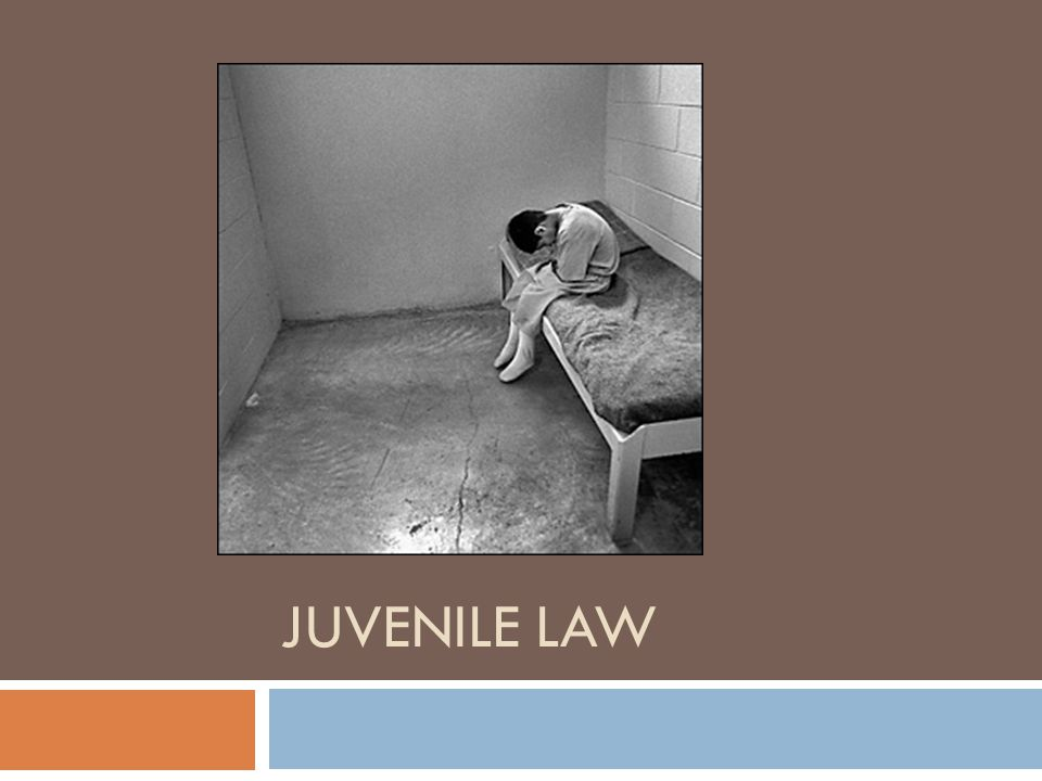 History of Juvenile Law Originally, juvenile offenders were treated the same as adult criminals Beginning in 1899, states began forming separate juvenile courts States took responsibility for parenting the children until they showed signs of positive change Why do you think states made this change?