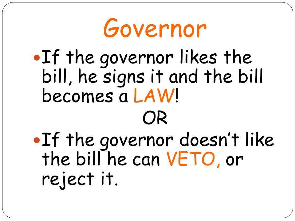 Overriding a Bill