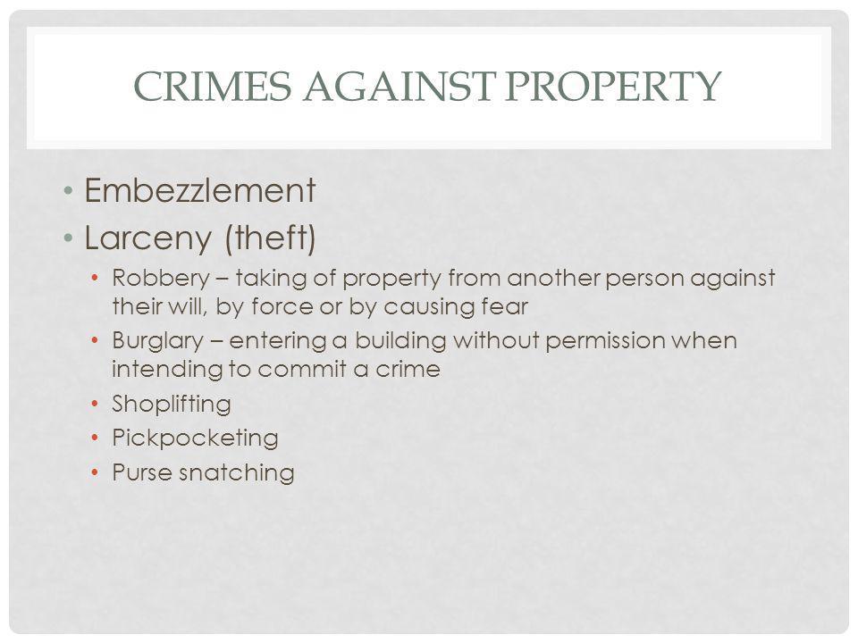 MISDEMEANOR A misdemeanor is a less serious crime.