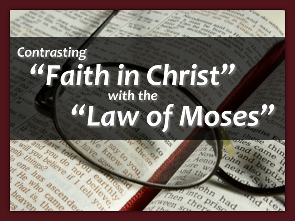 Incorrect Assumptions The Law of Moses, and therefore any law, cannot save because law demands perfect obedience – The Law of Moses does result in salvation, without perfect obedience – Matt.