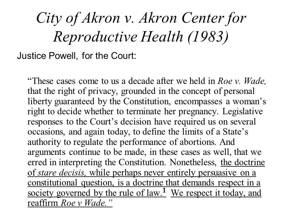 City of Akron v.