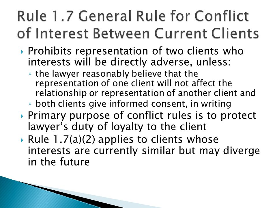 Attorneys have a duty to safeguard and keep client information confidential, including information about prospective and former clients.