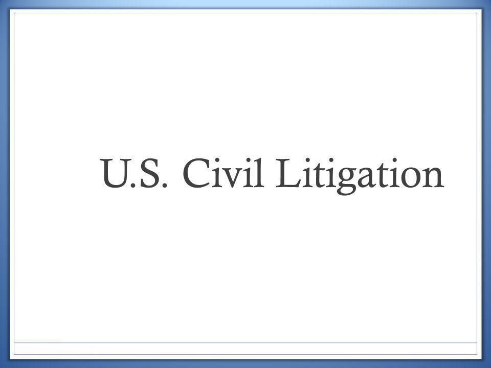 U.S. Civil Litigation