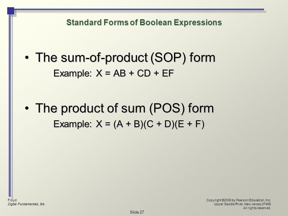 Floyd Digital Fundamentals, 9/e Copyright ©2006 by Pearson Education, Inc.