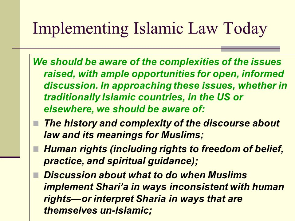 What role can U.S. legal scholars play? Noah Feldmans Fall and Rise of Sharia I certainly am not arguing that American society should welcome Sharia c