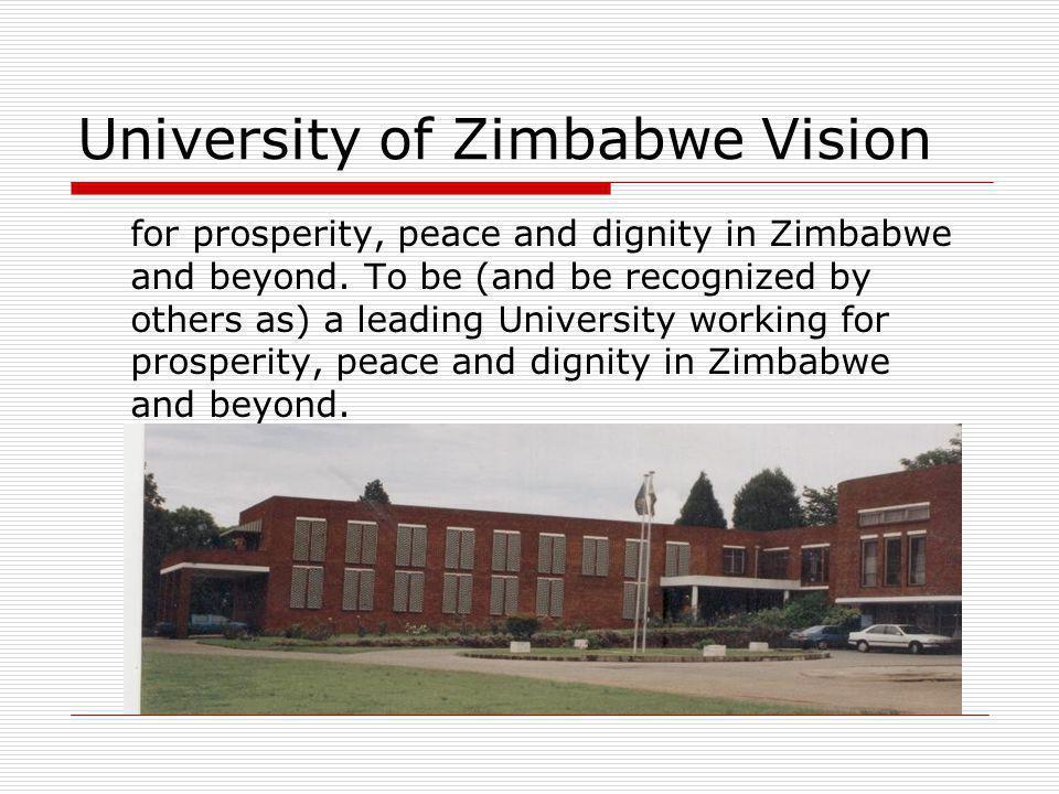 Duration:2003 to Date Funding:Norad and University of Zimbabwe