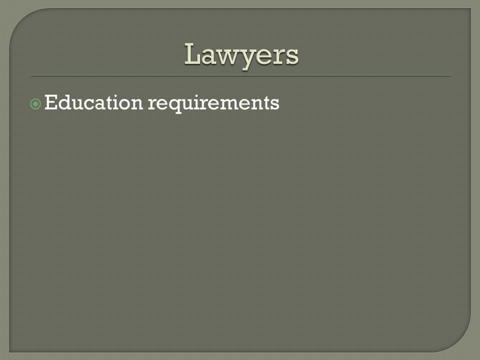 Fewer law students being offered summer jobs Employment surveys of law students 9 months after graduation (2009) – 30% are working in jobs that do not involve the practice of law More than 10% are working part-time 22% of those employed were still looking for other jobs (compared to 16% the previous year) Applications for judicial clerkships are at an all-time high Some clerks are being allowed to stay on an additional year Salary structure is bi-modal (see http://www.nalp.org/salarydistrib) http://www.nalp.org/salarydistrib