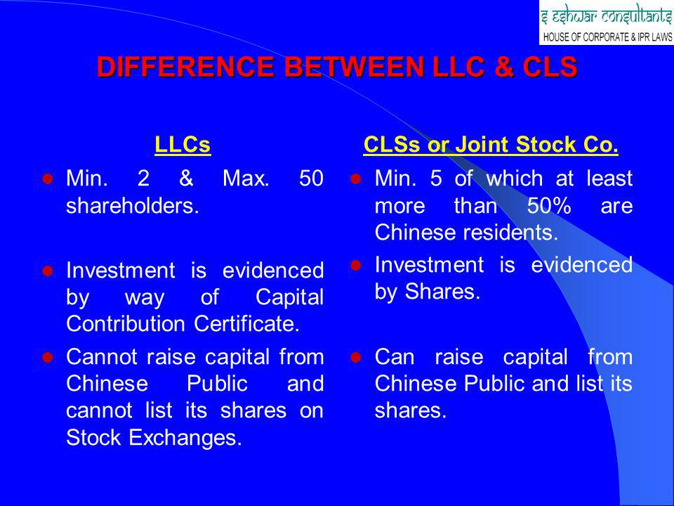 The following are the documents to be submitted: – Feasibility Report prepared jointly by the parties; – Joint Venture Agreement, JV Contract and Articles of Association all duly signed – the Law provides that these documents should be in Chinese with a counterpart in other languages.