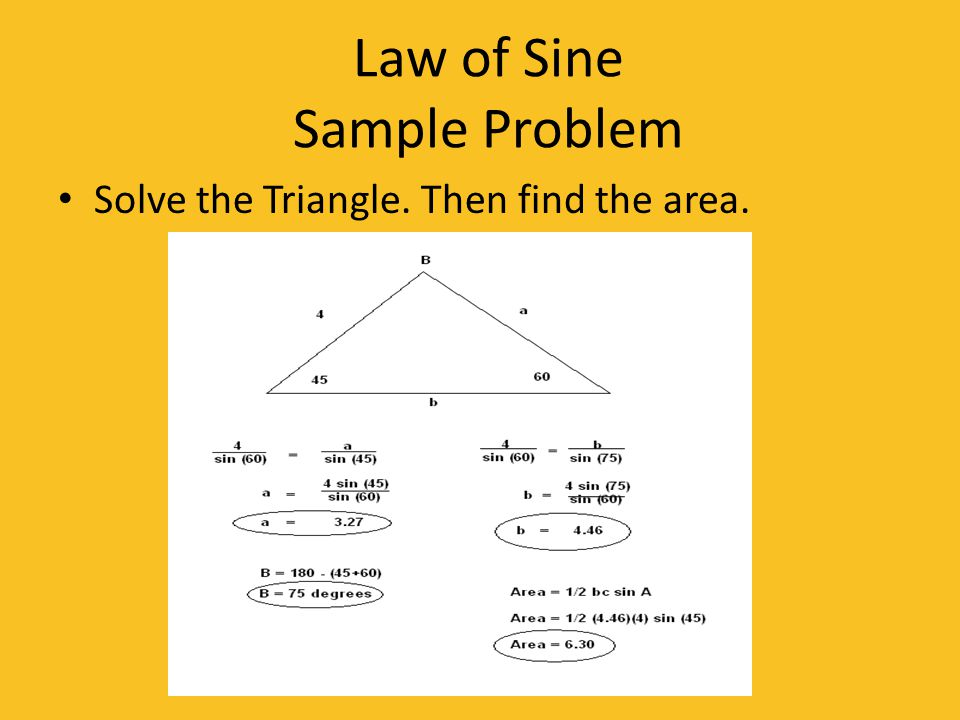 Law of Sine Story Problem A plane is flying in the air 160 ft from its starting point.