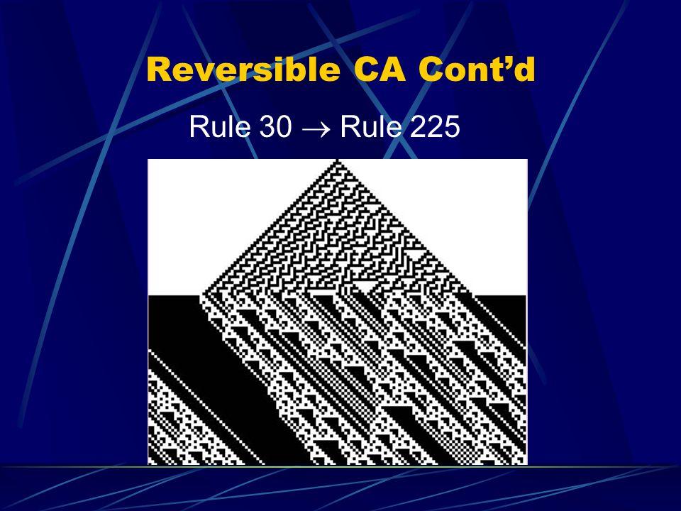 Reversible CA Contd Rule 30 Rule 225