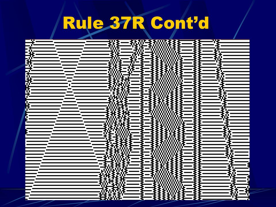 Rule 37R Contd