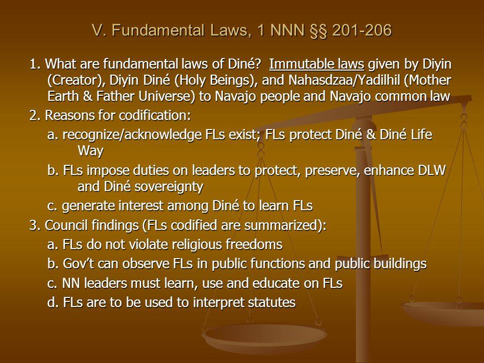 VI.Three foundational doctrines (in FLs) 1.