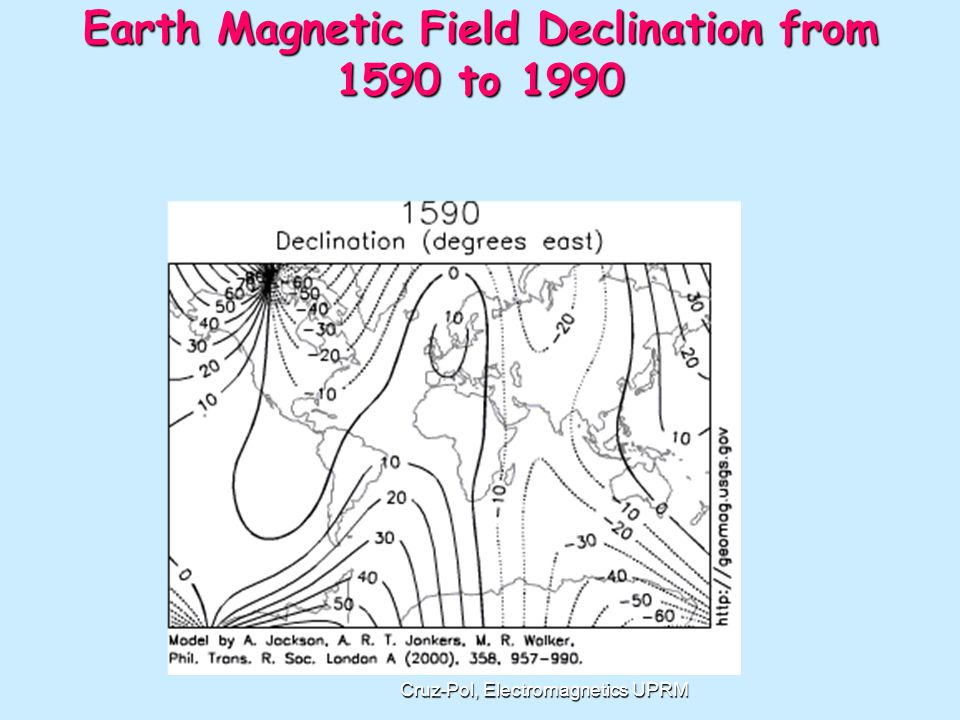 News Jan 2011 The Earth s magnetic north pole is slowly heading toward Russia, according to scientists, but one of the places being affected by this is Tampa International Airport.