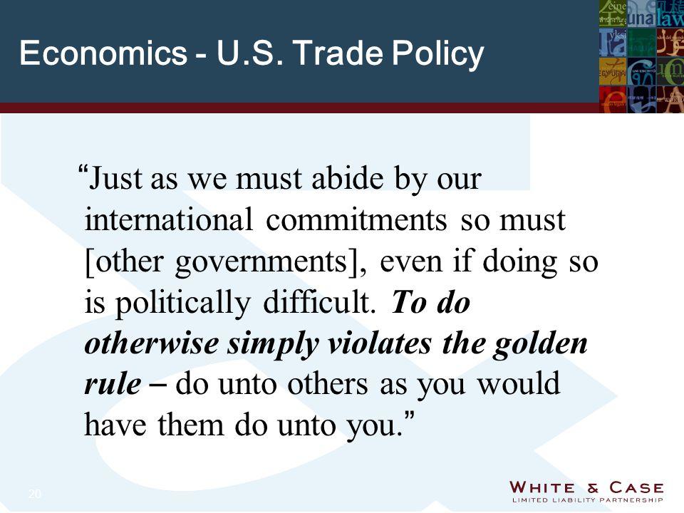 20 Economics - U.S.
