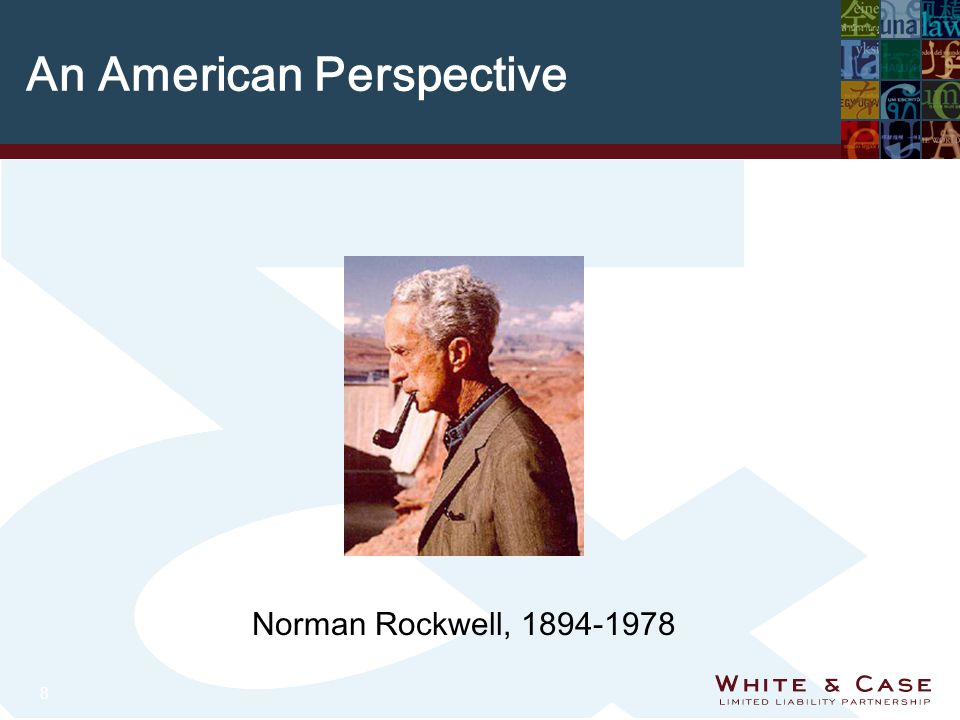 8 An American Perspective Norman Rockwell, 1894-1978