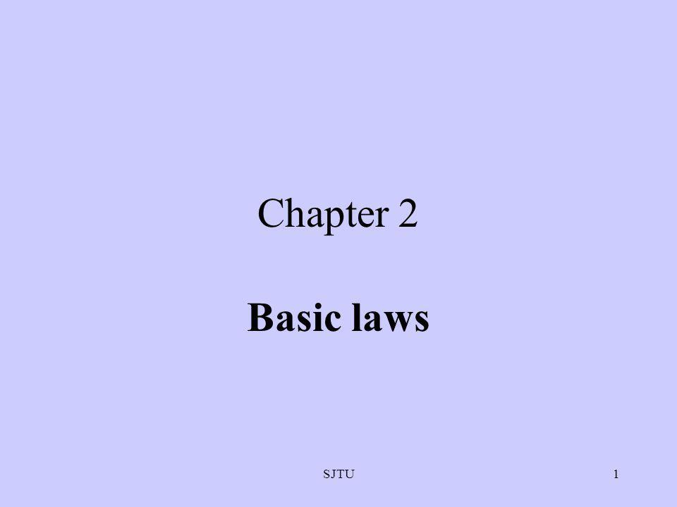 SJTU1 Chapter 2 Basic laws