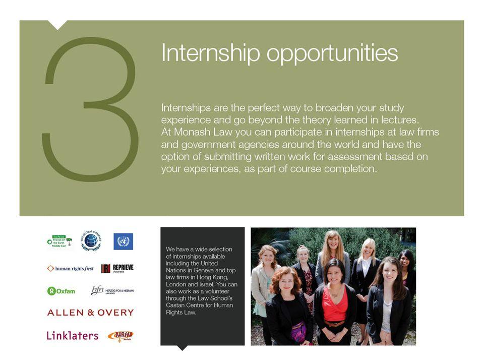 3. Internships
