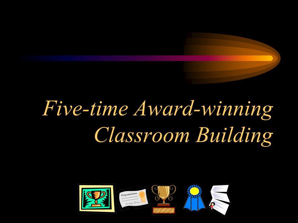 Five-time Award-winning Classroom Building