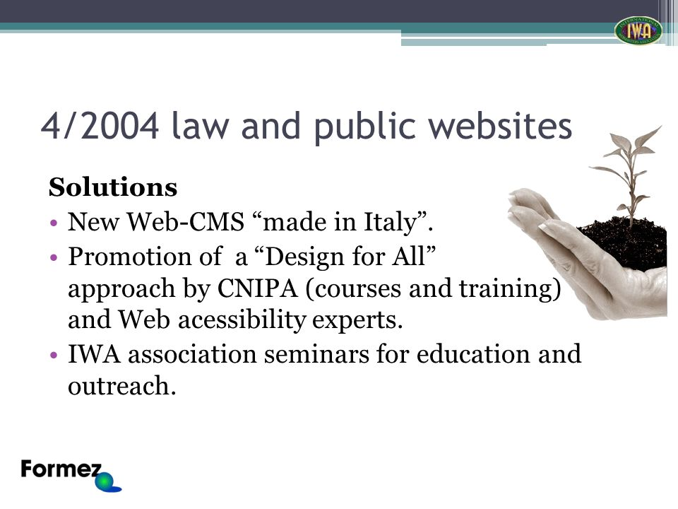 Solutions New Web-CMS made in Italy.