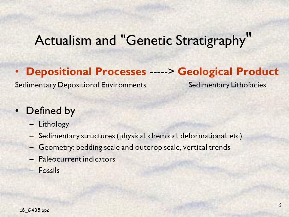 18_G435.pps 16 Actualism and