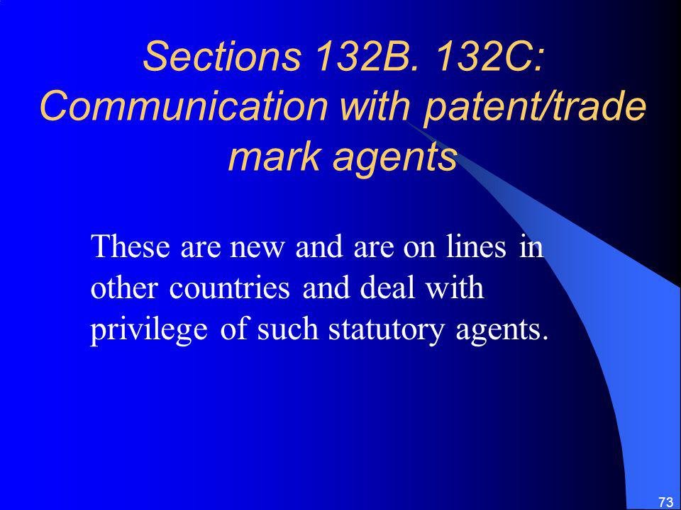 73 Sections 132B.