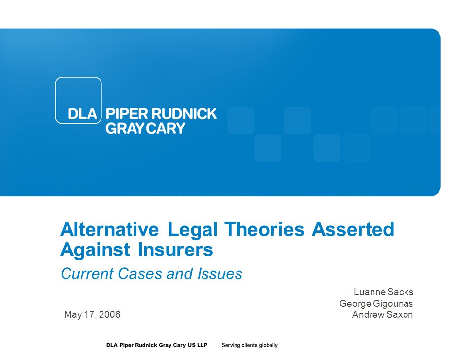 Common Issues With Alternative Claims Choice of law Can present difficult issues for plaintiffs Predominance of common questions Manageability of litigation and trial Outcome determinative differences in laws unnecessary Class actions State claims can limit or prevent nationwide classes Constitutionality based on aggregate contacts Extraterritorial application based on intent of state statute Varying state antitrust laws Could create different outcomes Does the state law mirror the Sherman Act.